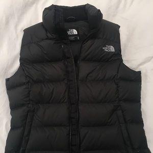 The North Face Puffer Vest Black Medium